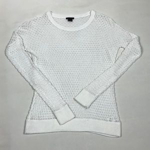 Theory Mesh Crocheted top